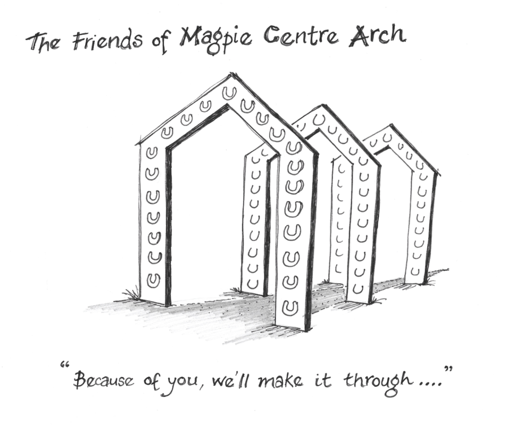 Friends of Magpie Centre Arch