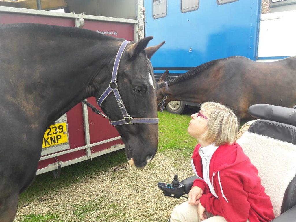 rider michelle & horse jupiter